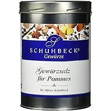 Schuhbeck Gewürzsalz für Pommes, 1er Pack (1 x 900 g)