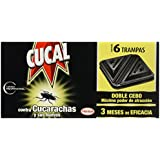 Cucal Trampa Doble Insecticida Anticucarachas 6 trampas