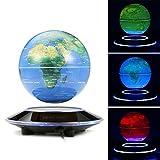 MECO-6-Globos-Terrqueos-Flotante-de-Levitacin-Magntica-LED-Luz-Azul-en-el-Chasis-Cambio-de-Color-Mapa-Mundial-Giratorio-para-la-Decoracin-Educacin-3-Colores