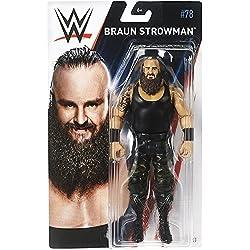 WWE SERIE BASIC 78 MATTEL ACTION FIGURE WRESTLING - Marrone strowman IL MOSTRO Among Uomo