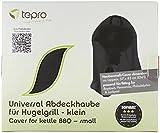 Tepro Universal Grillabdeckhaube für Kugelgrill, klein, schwarz, 57 x 57 x 85 cm, 8102