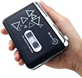 Old Fashion Cassette Player By Reshow | Tape To MP3 Converter Retro Walkman |Nostalgic Audio Tape Capture To MP3 Via USB | Portable Music Player | PC Compatible | Powered By Batteries Or Via USB Port
