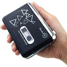 Cassetta Di Lettore Reshow / Convertitore Da Nastro A MP3 Walkman / Audio Cattura Nastro Su MP3 Tramite USB / Lettore Musicale Portatile / Compatibile Con PC / Alimentato Da Batteria O porta USB