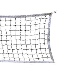 Red de Voleibol, 9.5M * 1M Con un Cable de Acero Cubierta Equipo de
