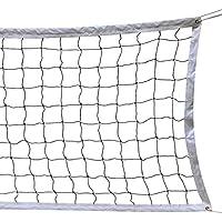 Red de Voleibol, 9.5M * 1M Con un Cable de Acero Cubierta Equipo de Deportes Al Aire Libre Plegable de La Norma Oficial