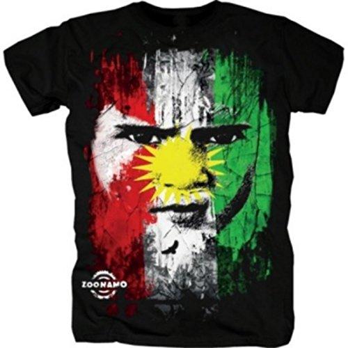 Zoonamo Kurdistan Classic Shirt schwarz M