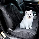kuorle mascota funda para asiento delantero para coches, impermeable y antideslizante se puede lavar a máquina. Perro fundas de asiento