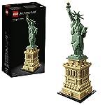LEGO Architecture Statua della Libertà, Set di Costruzioni e Idea Regalo Collezionabile, Souvenir di New York, Contiene… LEGO