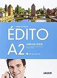 EDITO A2 ELEVE+CD+DVD - 9788490492086