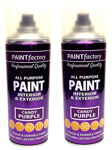 2-x-all-purpose-paint-candy-purple-interior-and-exterior-aerosol-spray-400ml-new