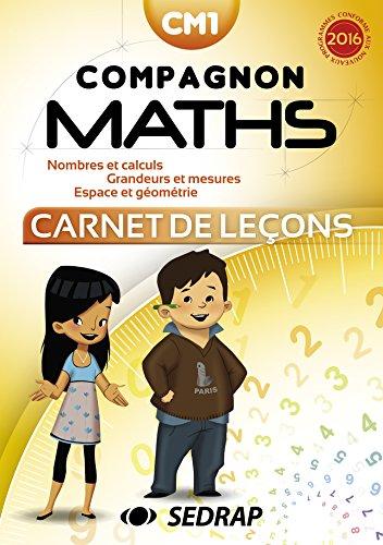 Compagnon Maths CM1 - Carnet de Lecons - Lot de 5