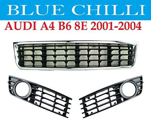 audi-a4-b6-8e-01-04-grille-barbecue-en-facade-pare-chocs-gauche-droite-centre-neuf