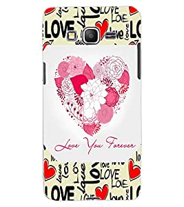 ColourCraft Love Quote and Image Design Back Case Cover for SAMSUNG GALAXY GRAND PRIME DUOS TV G530BT