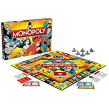 Winning Moves - 0971 - Monopoly Dc Comics - Version Française