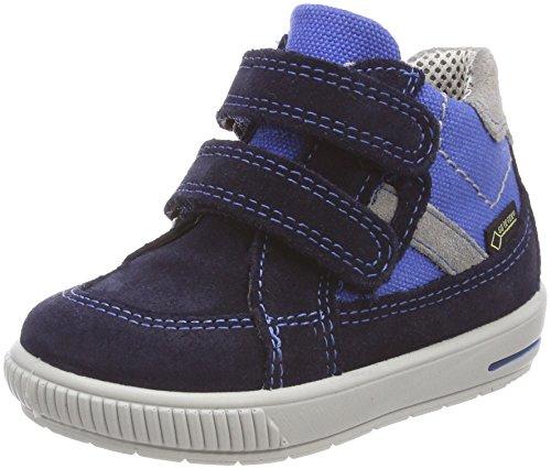 Superfit Baby Jungen Moppy Surround Sneaker, Blau (Ocean Kombi), 22 EU