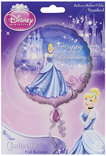 Disney Princess Amscan International Cinderella Happy Bday