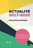 Lire le livre Actualité 2017-2018. Concours examens gratuit