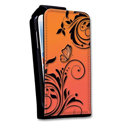 Flip Style Vertikal Handy Tasche Case Schutz Hülle Schale Motiv Foto Etui für Apple iPhone 5 / 5S - Flip V24 Design6 Design 6