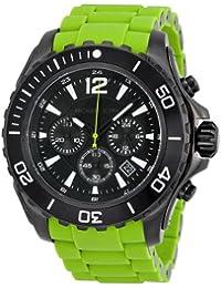 Michael Kors MK8235 - Reloj con correa de caucho para hombre, multicolor
