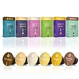 Gourmesso Flavour Box – 60 Nespresso kompatible Kaffeekapseln - Fairtrade