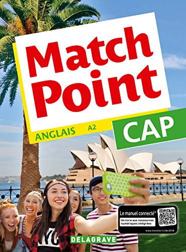 Match Point CAP (2018) - Pochette élève