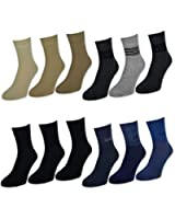 6 oder 12 Paar Kurzschaftsocken Kurzschaft Socken Herrensocken Baumwolle Schwarz Jeans Beige Grau - sockenkauf24
