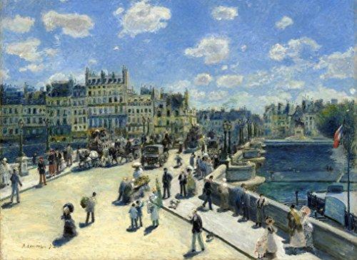 Puzzle 300 Teile - Auguste Renoir: Pont Neuf, Paris, 1872