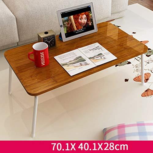 Preisvergleich Produktbild Klappbett Tisch Freizeit Minimalistischen Nachmittag Tee Sofa Kleinen Tisch Lernen Computertisch Kleine Tischgröße: 70, 1 * 40, 1 * 28cm (Farbe : A)