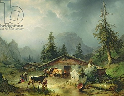 Alpine Hüte - Alu-Dibond-Bild 100 x 80 cm: