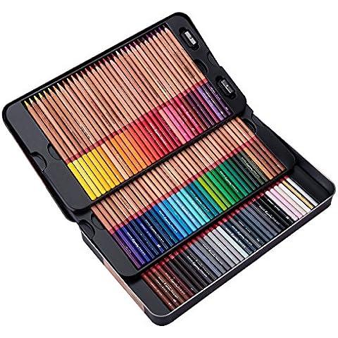 meeden 100lata de lápices de colores con tapa para adulto libro para colorear, Premium Calidad