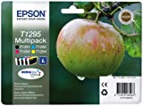 Epson T1295 Multipack - Print cartridge - 1 x black, yellow, cyan, magenta - blister with RF alarm