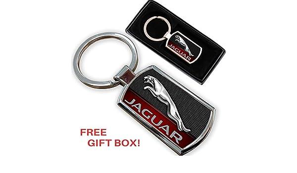 AUTOGIFTS Key Chain Logo Key ring For JAGUAR XE