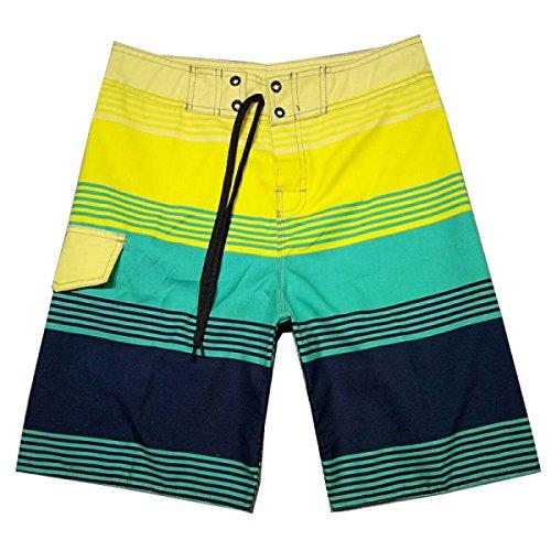 Hommes Quick Dry Sable Surf été Loisirs Tourisme Natation Tronc Tailles Et Couleurs Assorties A
