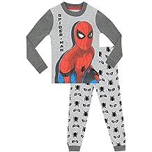 Spiderman - Pijama para Niños - El Hombre Araña - Ajuste Ceñido