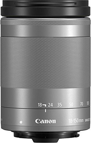 Canon EF-M 18-150mm F/3.5-6.3 IS STM Objektiv (55 mm Filtergewinde) silber
