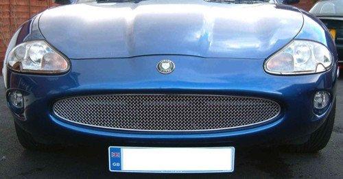 Preisvergleich Produktbild Jaguar XK8 XKR X100 Edelstahl Kühlergrill 1996-2003