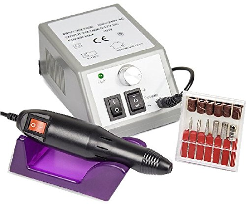 Nagelstudio Starter Set | UV Gel Set | Nagelfräser | UV Lampe 36 Watt | Nailartmix | Uv Farbgele| - 2