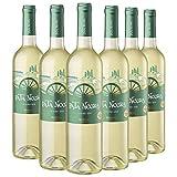 Pata Negra Verdejo Vino Blanco D.O Rueda, Crianza de, Pack de 6 Botellas x 75 cl: 450 cl - Volumen de Alcohol 12,5%