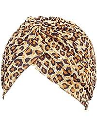 RLChicLog Sombrero de Turbante Musulmán Stretch para Mujeres Sombrero de  Chemo Sombrero Hijab e2292bec5ae