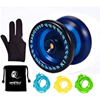Responsive YoYo MAGIC YOYO K1-Plus with Yoyo Bag/Sack + 3 Strings and Yo-Yo Glove Gift