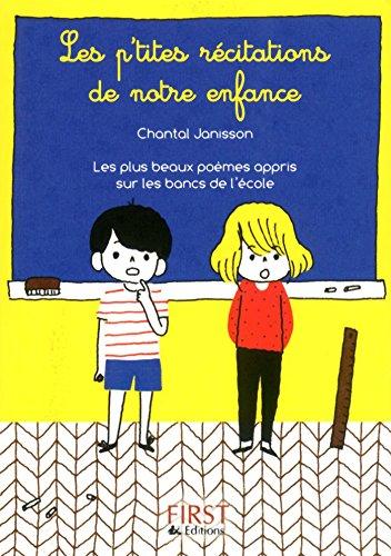 Petit livre de - P'tites récitations de notre enfance (LE PETIT LIVRE) (French Edition)