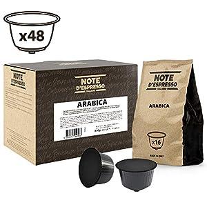 Note D'Espresso Arabica Miscela di Caffè Torrefatto, Macinato in Capsule Compatibili con Sistema Dolce Gusto - 336 g (48…