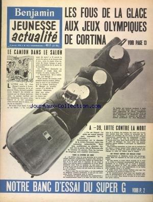 BENJAMIN JEUNESSE ACTUALITE [No 162] du 08/01/1956