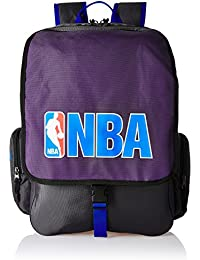 American Tourister Purple Casual Backpack (DRIBBLE NBA BACKPACK_8901836116809)
