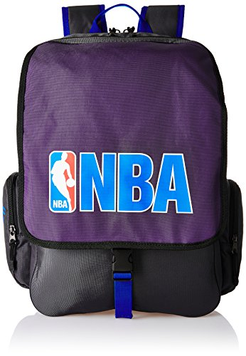 American Tourister Purple Casual Backpack (DRIBBLE NBA BACKPACK_8901836116809)