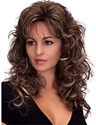 Stufenschnitt lockiges haar