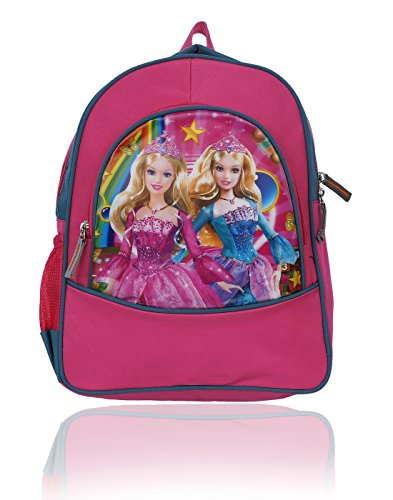 Rozen Nursery LKG UKG School Bag (Barbie Pink Backpack Small Size)  available at amazon for Rs.398