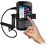 Image of Amzer Lighter Socket Phone Mount with Charging and Case System for BlackBerry Q10 - Comparsion Tool