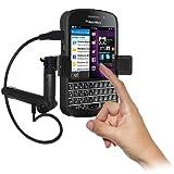Amzer - Supporto accendisigari con sistema di caricamento e custodia per BlackBerry Q10