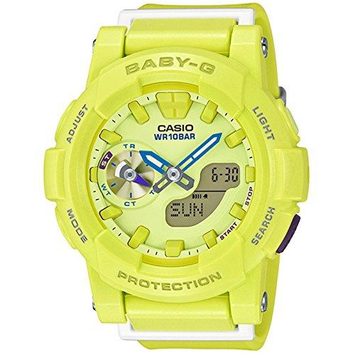 Casio Damas Baby-G Cuarzo: Batería JAPAN Reloj (Modelo de Asia) BGA-185-9A